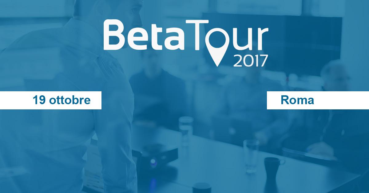 beta tour 19 ottobre roma